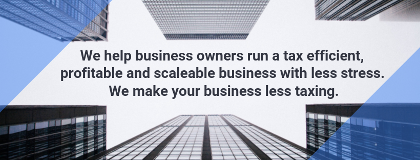 We help business owners looking to run a tax efficient, profitable and scaleable business with less stress.